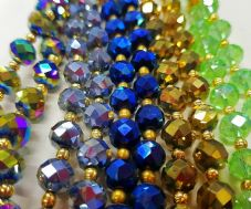 Large Crystal Tasbeeh with 33 Beads ( All Colours / Gift Islamic Selling ) NEW